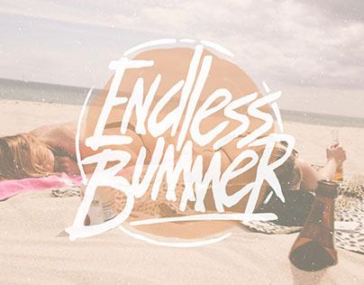 ENDLESS BUMMER - HAND DRAWN FONT