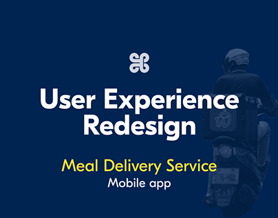 UX redesign for a meal delivery app