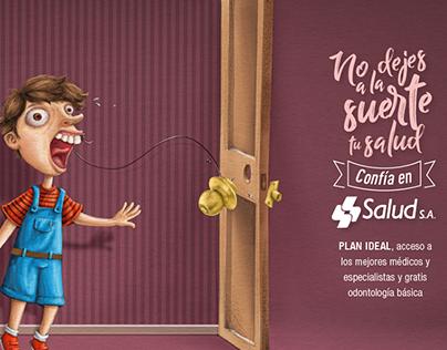 SALUDSA - Digital Illustration