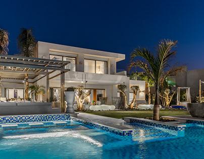 Hacienda White Villa by Aura-Architectural Photography