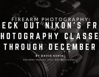 Nikon's Free Photography Classes | Blog Header