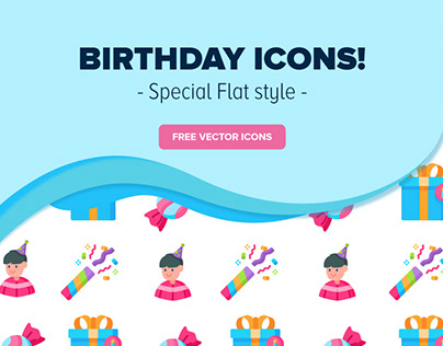Icons - Birthday