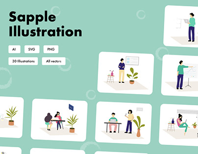 Sapple Illustrations