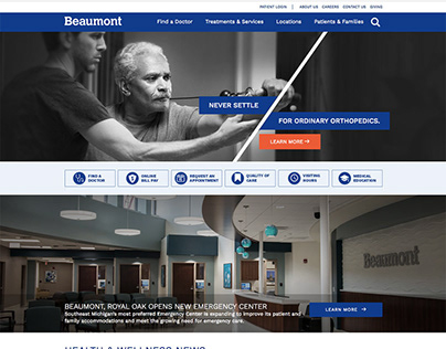 Beaumont.org Website