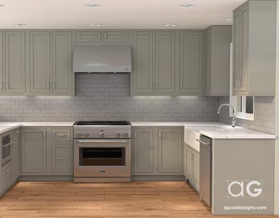 3D Kitchen Animation services!