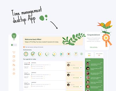 Time Management Desktop Application