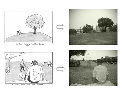 Storyboard for Short Film Exercise