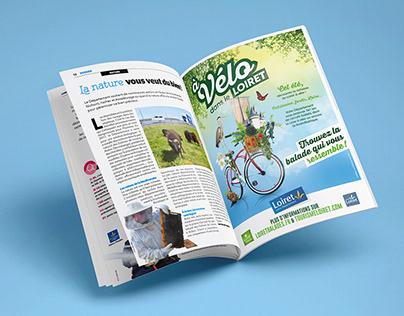 À vélo dans le Loiret !