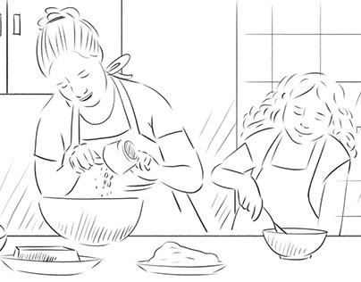 Storyboard Chile Huevos