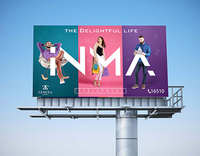 INMA out door campaign