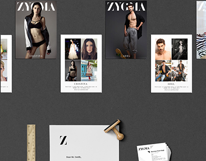 Corporate Identity - Modelling Agency