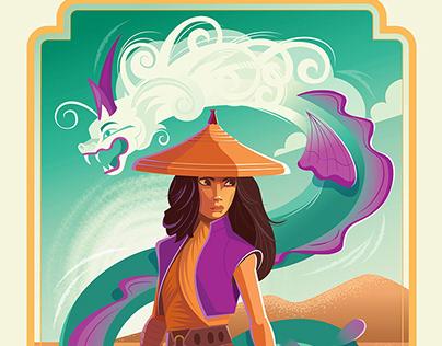 Raya and the Last Dragon posters