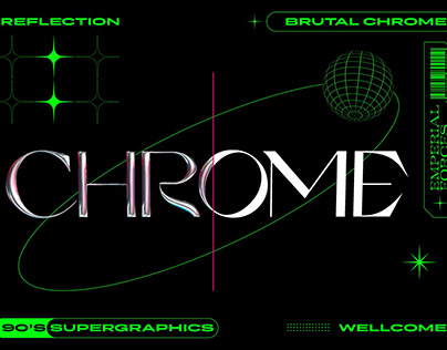 BRUTAL CHROME TEXT EFFECT™