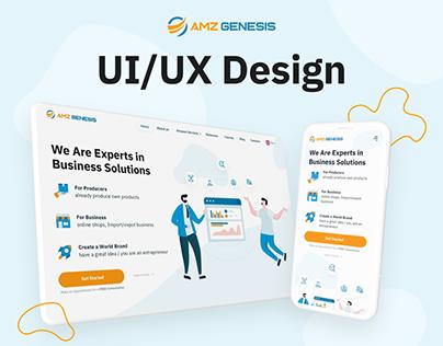 AMZ Genesis - UI/UX