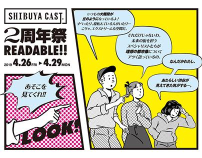 SHIBUYA CAST. 2nd Anniversary