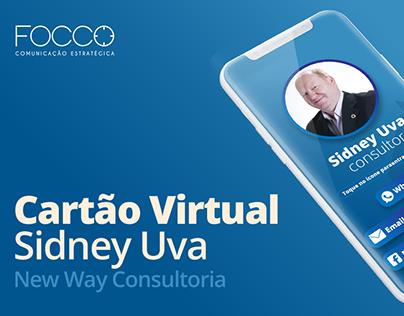 Cartão Virtual   Sidney Uva