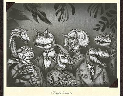 Dinoctober 2020 | Dinosaur Portraits