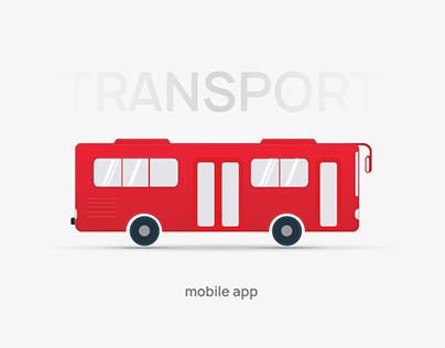 TRANSPORT - mobile app