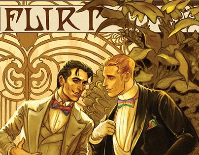 Flirt ('Classics... but make it gay' zine)