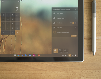 Windows 10 Mobile : New Action Center Concept on Behance