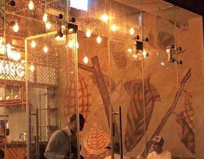 Mural - Traditional/Digital by Remy F   Nisa Mubarak