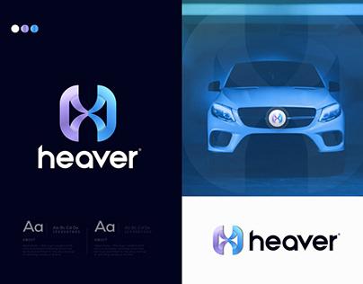H Modern Car Brand Logo Design for Sale