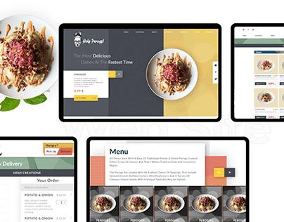 UX/UI Design for Restaurant Website