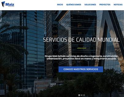 MAIZ // DISEÑO WEB