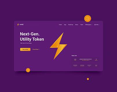 Voolty – Utility Token / Branding Concept