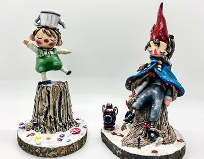 """""""Wirt & Greg"""" sculpts"""
