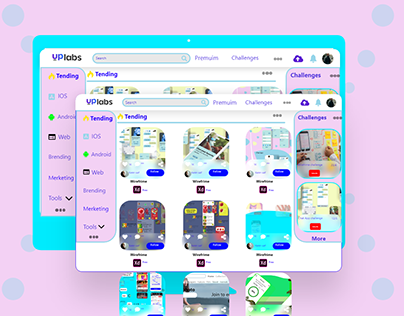 Redsign UPLABS home page (web)(new feature)