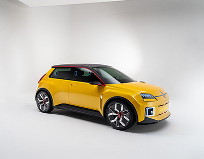 Renault R5 Concept Car, Studio shoot