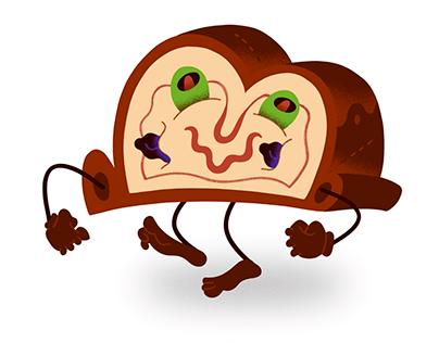 Pan de Jamón Sticker