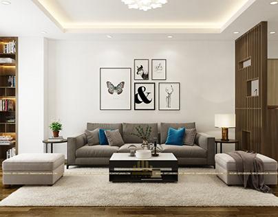 Thiết kế nội thất chung cư Tân Việt Tower - Anh Tùng