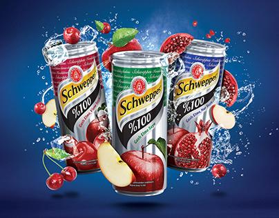 Schweppes Sparkling 100% Fruit Juice