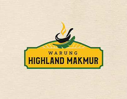 Warung Highland Makmur | Restaurant Branding