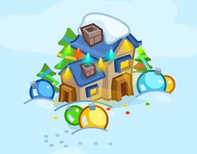 Holiday Cheer HTML5 game