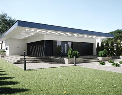 Villa exteriors