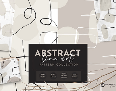 Abstract Line Art Patterns