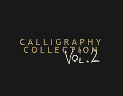 Cć / Calligraphy Collection Vol. 2