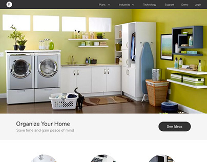 Organize Your Home :: UI & UX Design