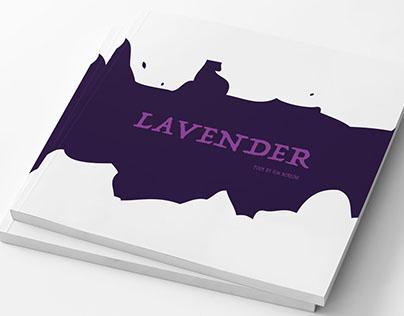 Lavender Poem Book