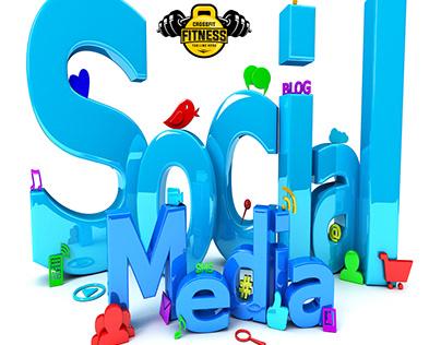 Fitness social media designs