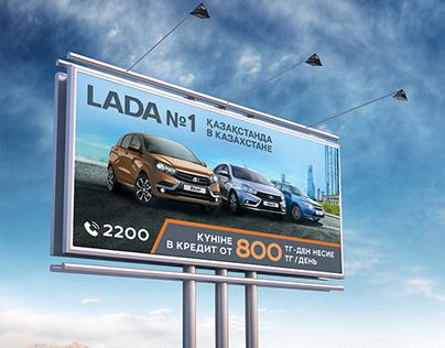 Billboard visual design
