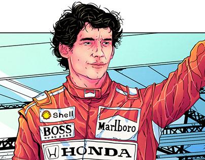 Ayrton Senna - Tribute