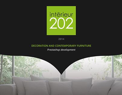 Interieur 202 - Ecommerce Intégration