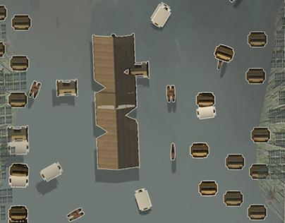 Runner Up (Design) AP2020: Floating Market Baiton