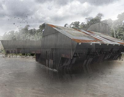 Amazon Riverbarge