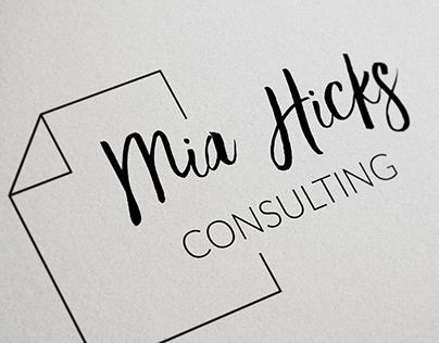 Logo + Business Cards - Mia Hicks Consulting