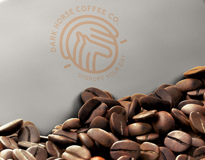Dark Horse Coffee Co. Branding